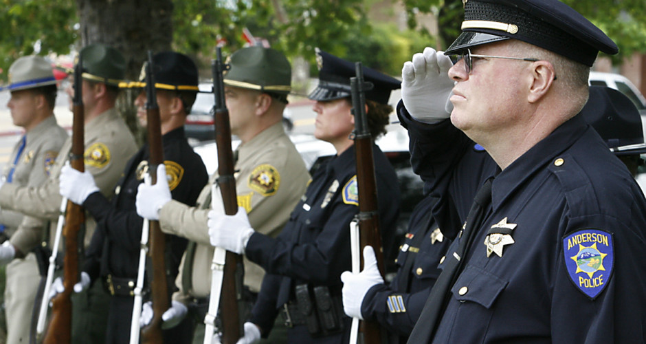 Slain officers remembered
