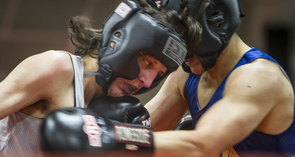 Blood Sport: UT frats battle at 'Boxing Weekend'